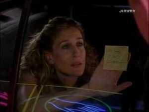 Carrie, Sex and the City, Post-it